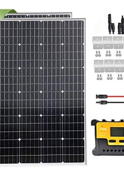 240W Solar Panel Starter Kit with 20A LCD Charge Controller