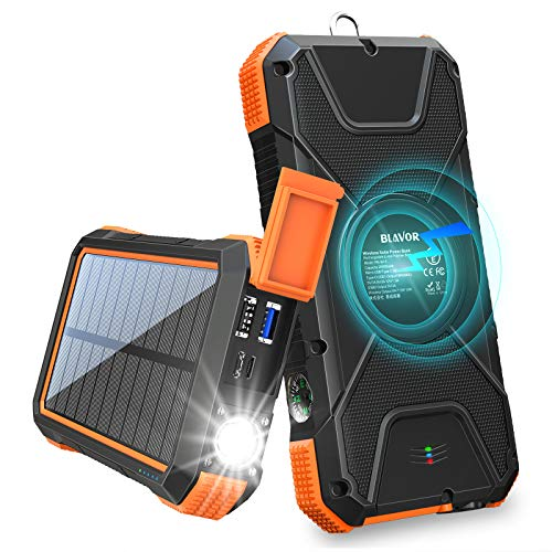 BLAVOR Solar Charger Power Bank 18W
