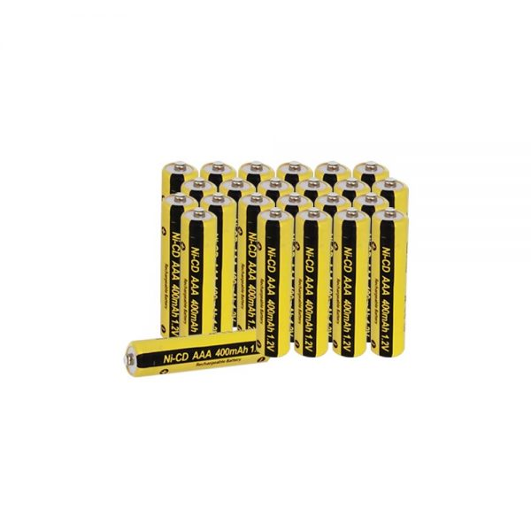 AAA Nicd Solar Rechargeable Batteries