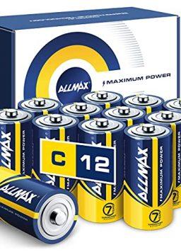 C Maximum Power Batteries ong-Lasting
