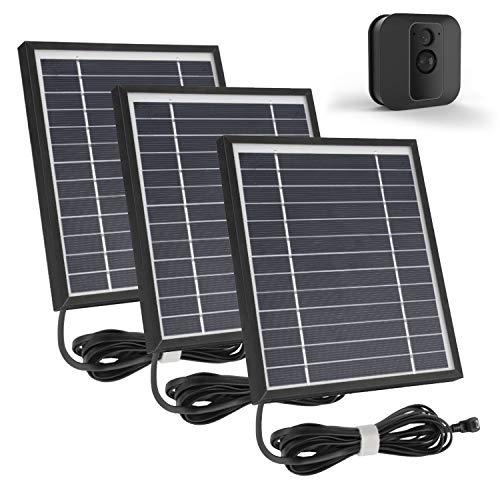 iTODOS 3 Pack Solar Panel Works for Blink XT XT2