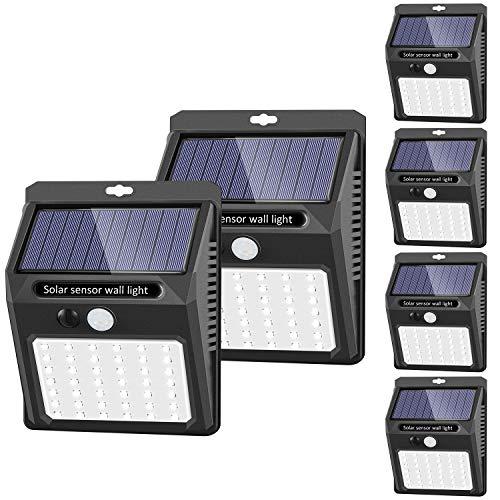 SEZAC Solar Security Lights Solar Motion Sensor