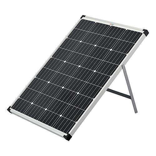 100 Watt 12 Volt Portable Monocrystalline Solar Panel