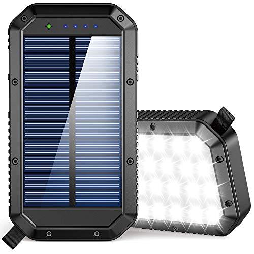 Solar Charger Power Bank 25000mAh