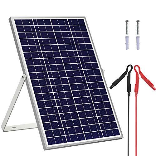 SOLPERK 30W/24V Solar Panel,Solar trickle Charger