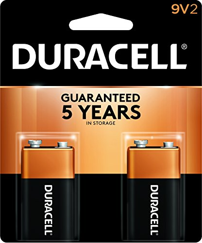 Duracell 9V Alkaline 9 Volt Batteries