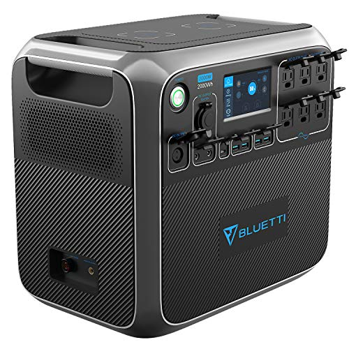 Portable Power Station for Off Grid Quiet Solar Generator