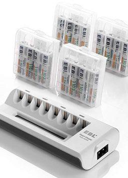 EBL Rechargeable AAA Batteries 16-Packs