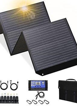 100w 18V Solar Panel for Explorer 160/240/500 as Portable Solar Generator