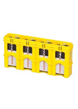 SlimLine 9V Battery Caddy Holds 4 Batteries