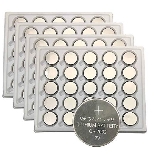 100pcs 2032 Coin Cell Battery 3V Lithium Button Cell Battery