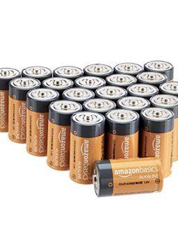 Amazon Basics 24 Pack C Cell All-Purpose Alkaline Batteries