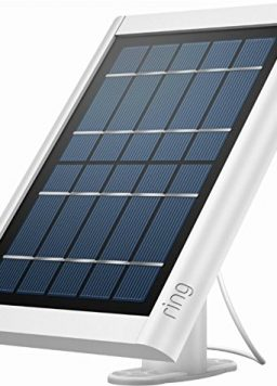 Ring Solar Panel White - Compatible with Ring Spotlight Cam Battery
