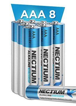 NECTIUM Superior Performance AAA Batteries