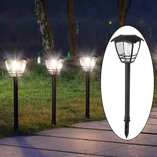 Maggift 4 Pack Vintage Solar Pathway Lights LED