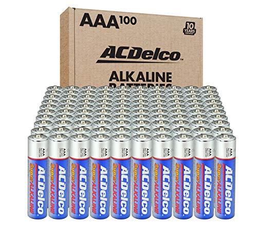 AAA Batteries Maximum Power Super 100-Count