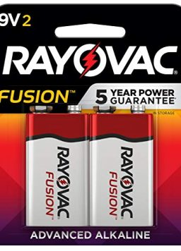 9V Batteries Rayovac Fusion