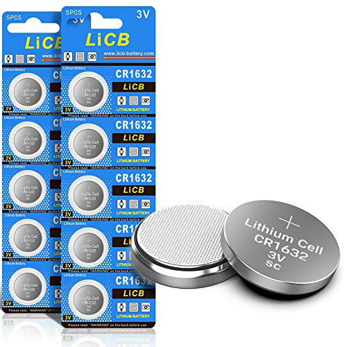 LiCB 10 Pack 3V Lithium Battery