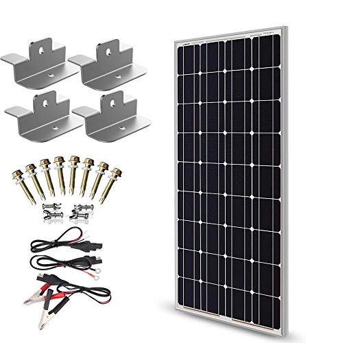 SUNER POWER 12V Waterproof Solar Battery Trickle Charger