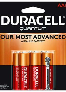 Duracell Quantum AA Alkaline Batteries - Long Lasting