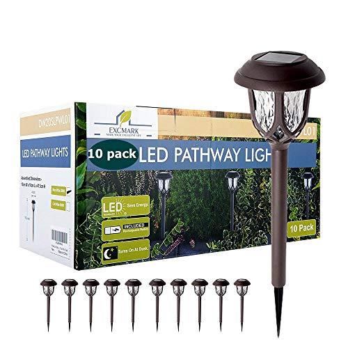 10 Pack Solar Lights Outdoor Decorative