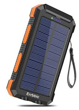 Solar Charger 30000mAh Portable Solar Power Bank
