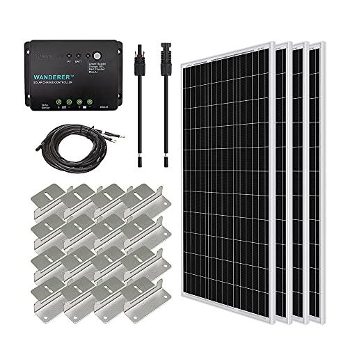 Renogy 400 Watt 12 Volt Monocrystalline Solar Starter Kit