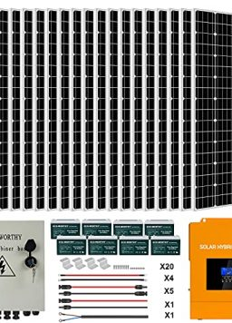 ECO-WORTHY 4KW 16KWH 48V Complete Solar Power System Kit