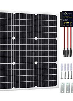 SOLPERK 50W Solar Panel Kit 12V