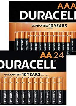 Duracell - CopperTop AA + AAA Alkaline Batteries Combo Pack