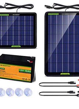 ECO-WORTHY 12V 5W 10W Solar Trickle Charger Solar Battery