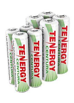 4xAA 4xAAA Rechargeable Batteries Low Self Discharge