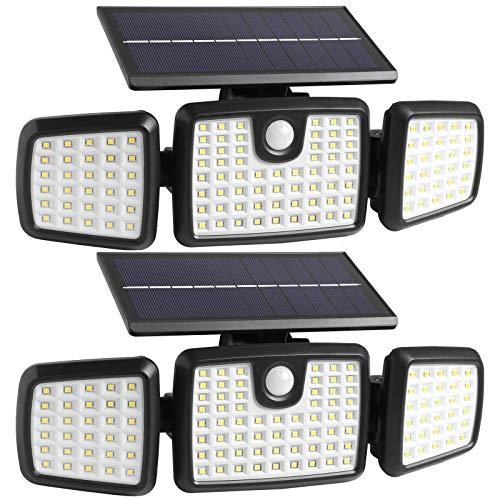 176 LED Wireless Led Solar Motion Sensor Lights Outdoor