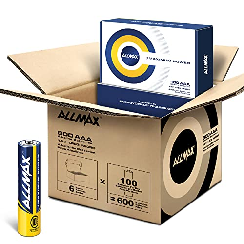 Allmax AAA Maximum Power Alkaline Batteries