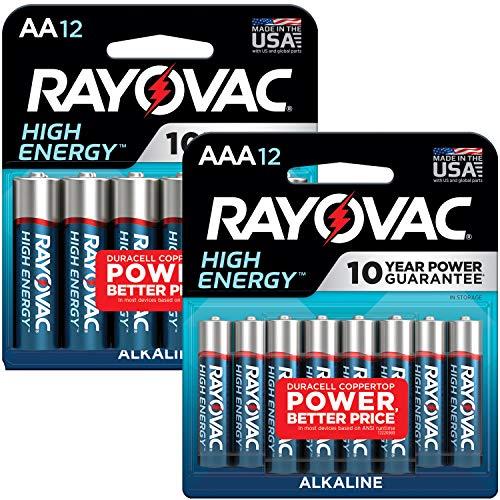 Rayovac AA Batteries & AAA Batteries Combo Pack