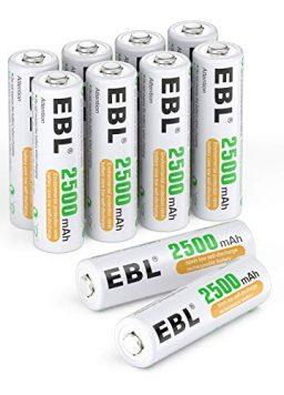 AA Batteries 2500mAh 1.2V High Performance