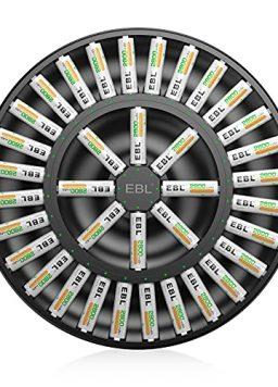 EBL 36Slot Battery Charger for 1/2/3./35/16 pcs