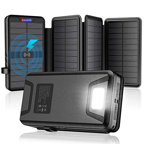 Solar Charger,Solar Power Bank,35800mAh