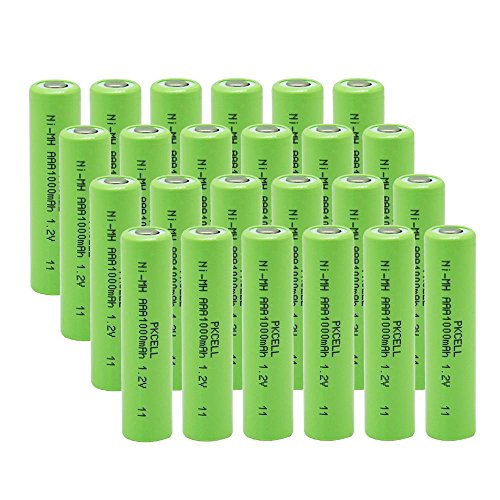 Pkcell 1.2V AAA Ni-MH Rechargeable Batteries