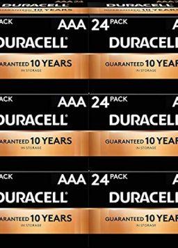 Duracell MN2400BKD CopperTop Alkaline Batteries