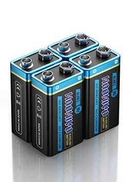 9V Batteries for Household and Business, Smoke Detector