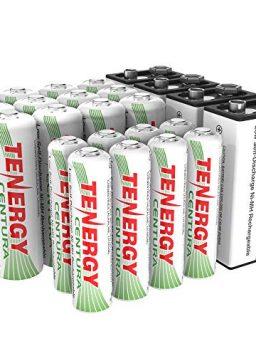 12xAA 8xAAA 4x9V Rechargeable Batteries