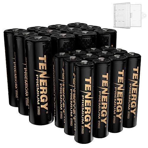 Tenergy Premium PRO Rechargeable AA and AAA Batteries