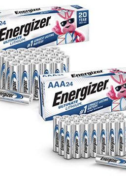 Energizer AA Lithium Batteries, AAA Lithium Batteries Combo Pack