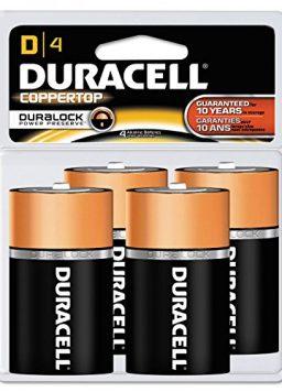 CopperTop Alkaline Batteries with Duralock Power Preserve Technology