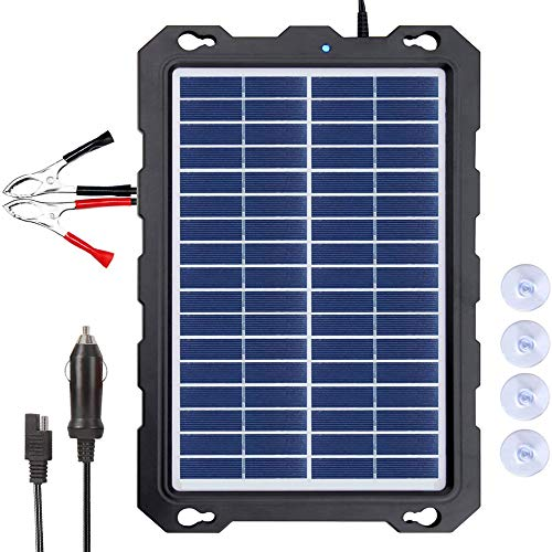 POWOXI 7.5W-Solar-Battery-Trickle-Charger-Maintainer