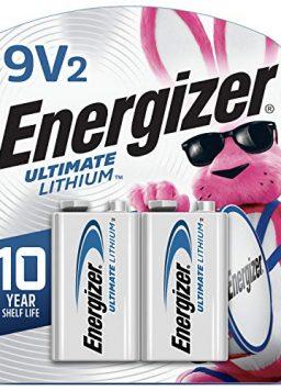 9V Batteries Energizer Lithium