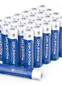 Deleepow Rechargeable AAA Batteries 1100mAh