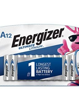 Energizer AAA Lithium Batteries, Ultimate Lithium Triple A Battery
