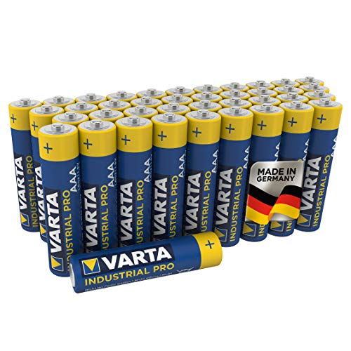 VARTA Industrial Pro AAA Micro Alkaline Batteries